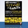 Affiche – Tennis en famille
